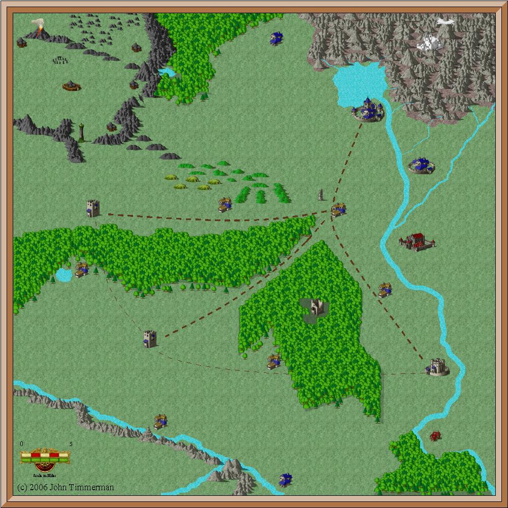 Fantasy Overland Map #1