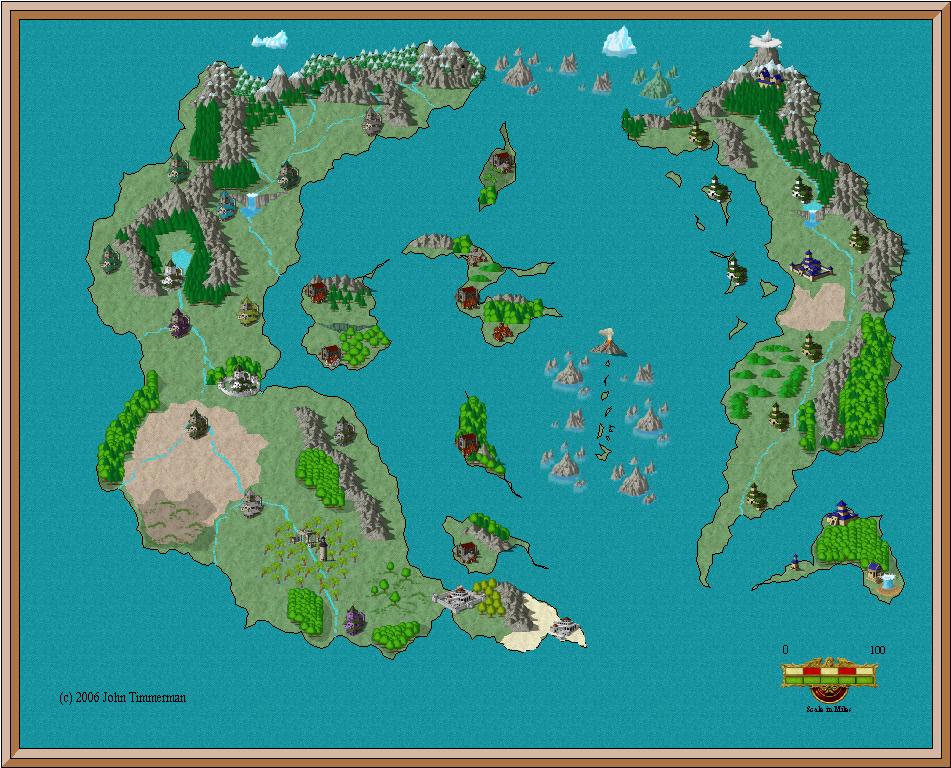 Fantasy Island Map #1