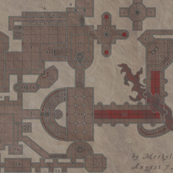 Dungeon Stronghold of a Planar Lord, by Mrrkyllothur
