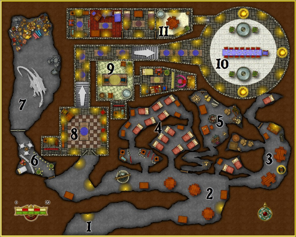 Fantasy Dungeon Map #4