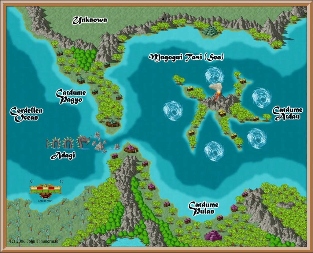 Fantasy Overland Map #4