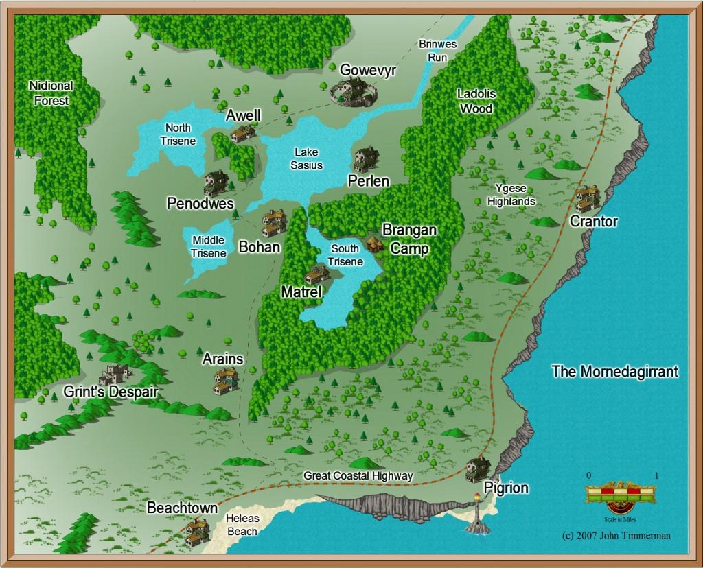 Fantasy Overland Map 6