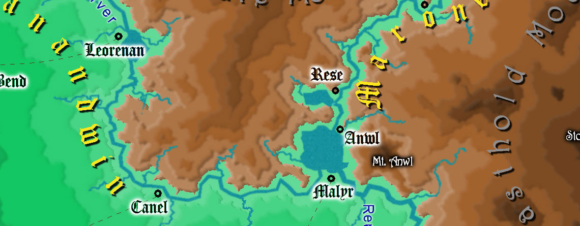 Fantasy Overland Map #8
