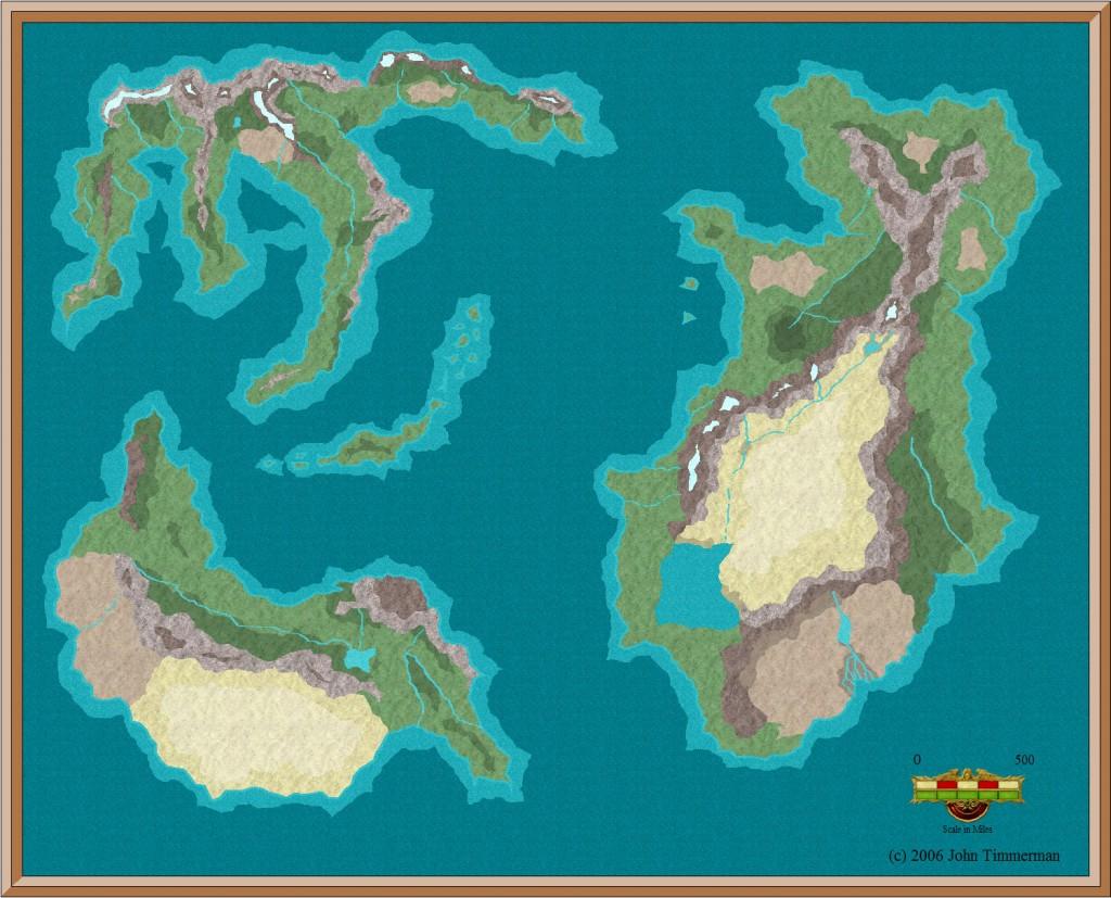 Fantasy World Map #2